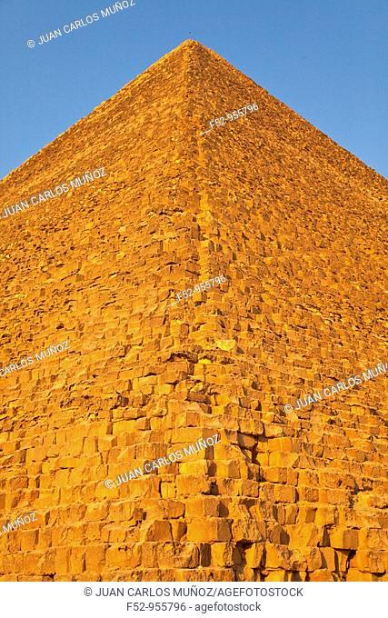 The Great Pyramid. Giza. Cairo. Nile Valley. Egipt