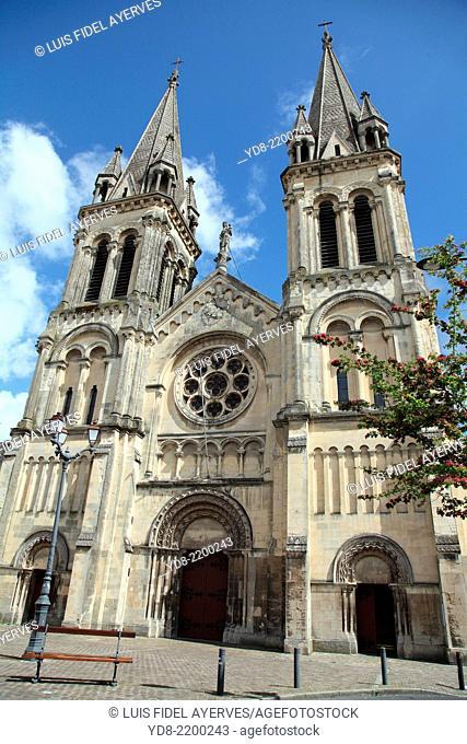Basilique Notre-Dame de la Délivrande Cherbourg. Normandy, France