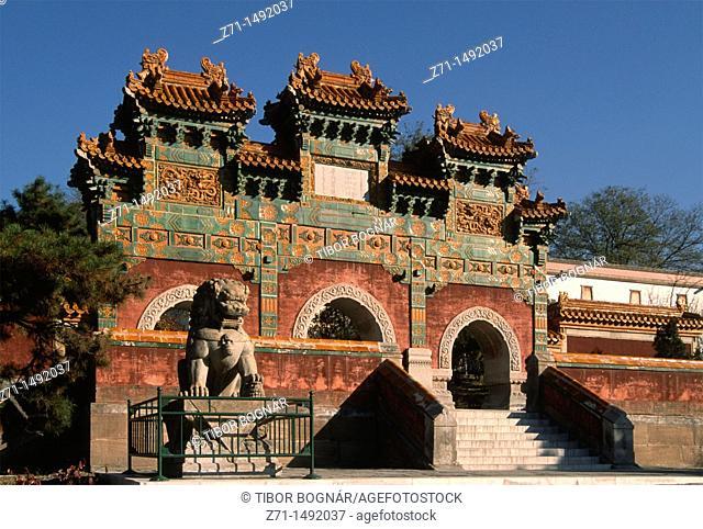 China, Hebei, Chengde, Temple of Potaraka Doctrine