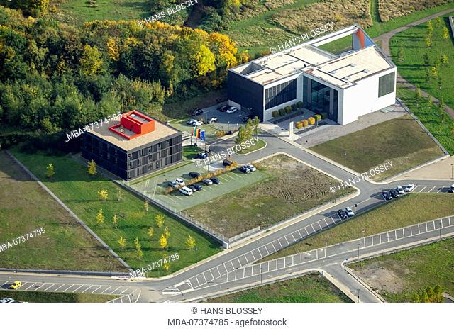 EGR Strategy Center Health NRW, BioMedicine Park health campus, aerial view of Bochum
