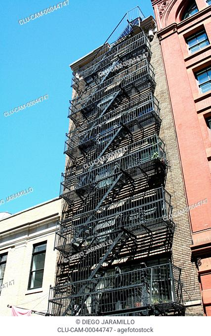 Neighborhood Soho, Manhattan, New York, United States, North America