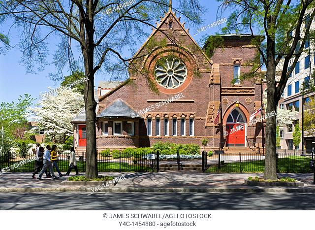 St Peters Episcopal Church in downtown Charlotte North Carolina