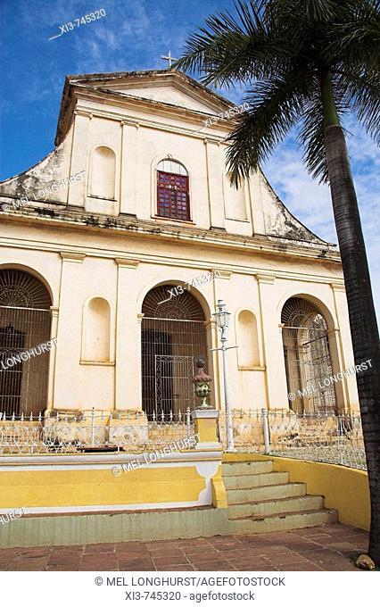 Iglesia de Santisima Trinidad, Parroquial Mayor, Holy Trinity Church, Plaza Mayor, Trinidad, Sancti Spiritus Province, Cuba