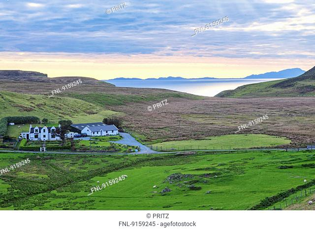 Cottages at Neist Point, Isle of Skye, Scotland