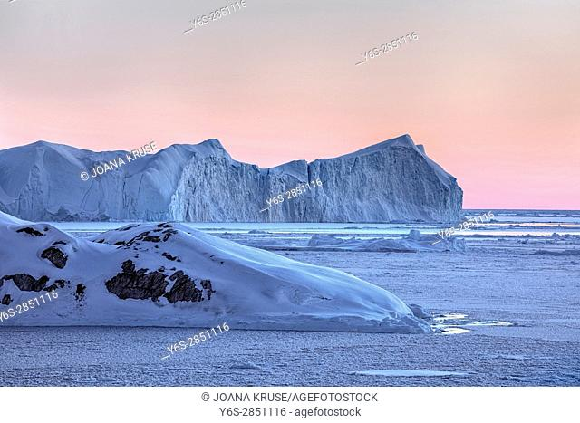Icefjord, Ilulissat, Greenland