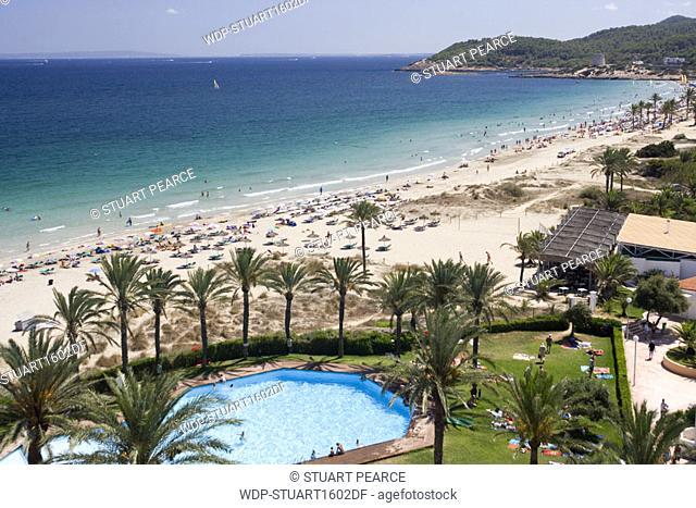 Playa d'en Bossa, Ibiza, Balearics
