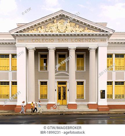 Colegio San Lorenzo college, Cienfuegos, Unesco World Heritage Site, Cuba