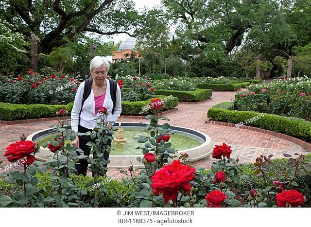 The New Orleans Botanical Garden, New Orleans, Louisiana, USA