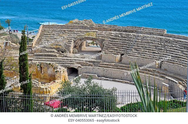 Amphitheater of Tarragona Spain