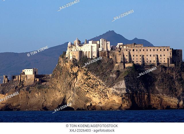 fortress of Giovanni da Procida at procida island, naples