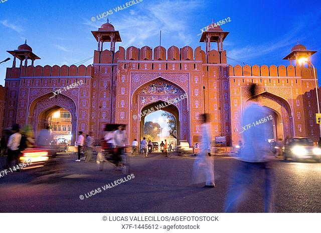 Ajmeri Gate  Jaipur  Rajasthan
