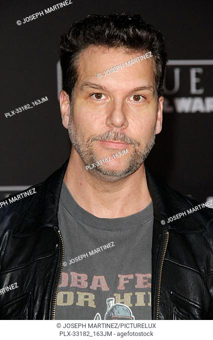 """Dane Cook at the world premiere of """"""""Rogue One: A Star Wars Story"""""""" held at the Pantages Theatre in Hollywood, CA, December 10, 2016"""