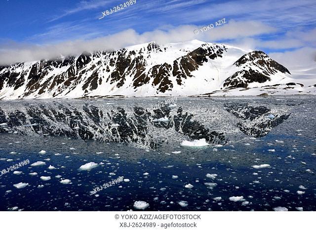 Norway, Svalbard islands, Spitsbergen island