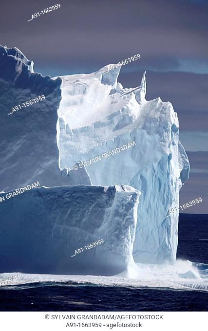 Icebergs in the Weddell Sea, Antarctica