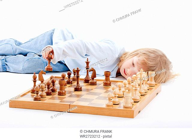 activity, background, beautiful, board, boy, Caucasian, challenge, chess, chessboard, child, childhood, competition, competitive, concentration, cute, education