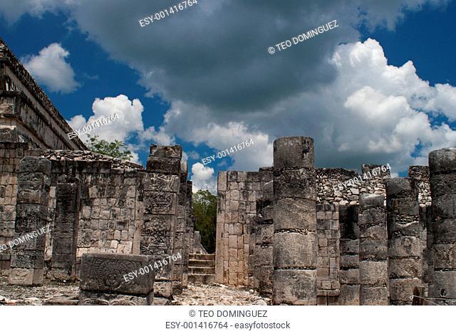 Temple at Chichen Itza, Mexico