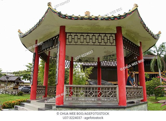 The chinese garden at the Museum Kalimantan Barat, Pontianak, Indonesia