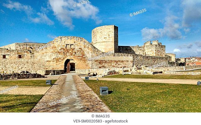 Zamora castle. Zamora city, Castile Leon, Spain