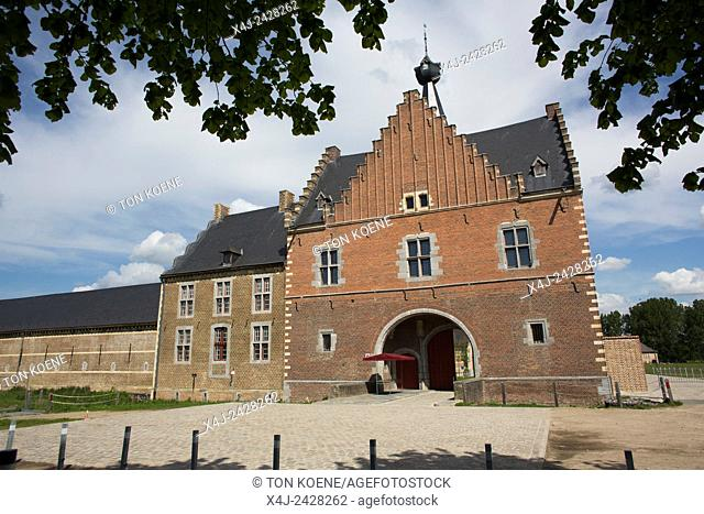 renovated abbey in Belgium is now a business centre and office