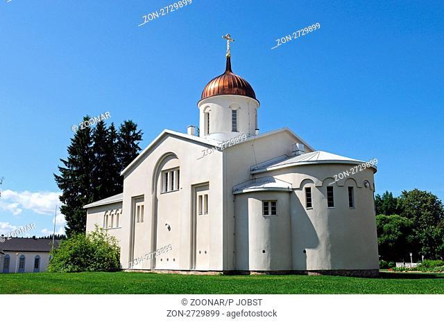 Das Mönchskloster Uusi-Valamo in Finnland ist im Jahr 1940 entstanden / The Uusi-Valamo monastery in Finland had been founded in 1940