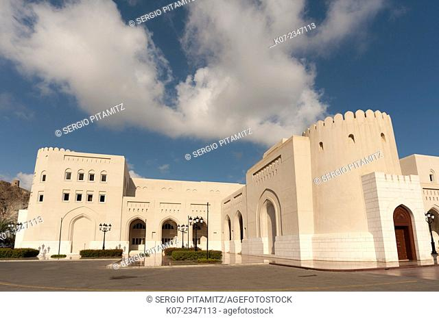 Sultan palace, Muscat, Oman