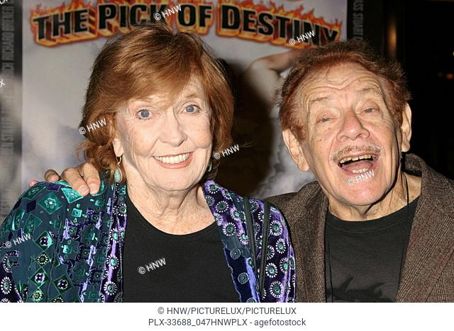 "Anne Meara, Jerry Stiller 11/09/06 """"Tenacious D in the Pick of Destiny"""" Premiere @ Grauman's Chinese Theatre, Hollywood Photo by Ima Kuroda/HNW / PictureLux..."