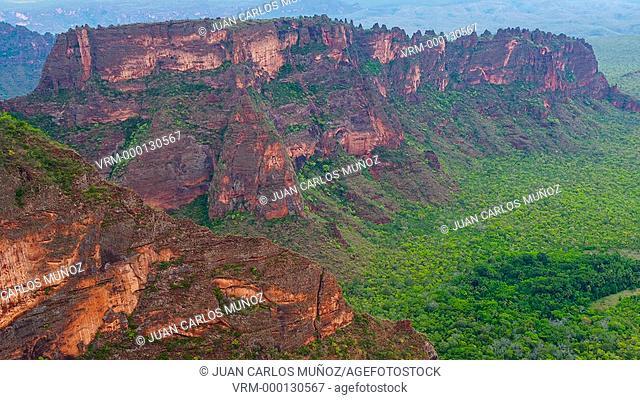 Landscape in Chapada dos Guimaraes
