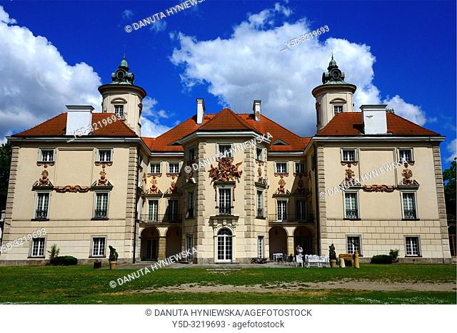 Palace at Otwock Wielki or Otwock Grand Palace known also Jezierscy Family palace or Bielinscy Family palace, architect Tylman van Gameren