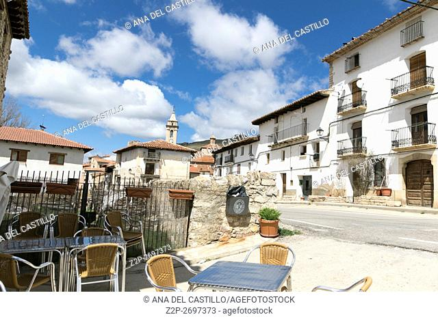 Fortanete village in Teruel Aragon Spain