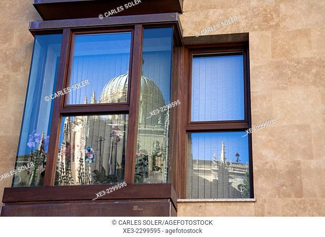 El reflejo de la Catedral, Salamanca