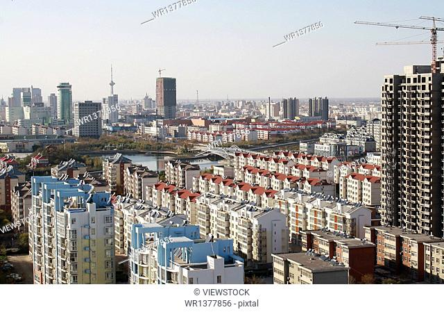 Dongying City, Shandong Province city scenery
