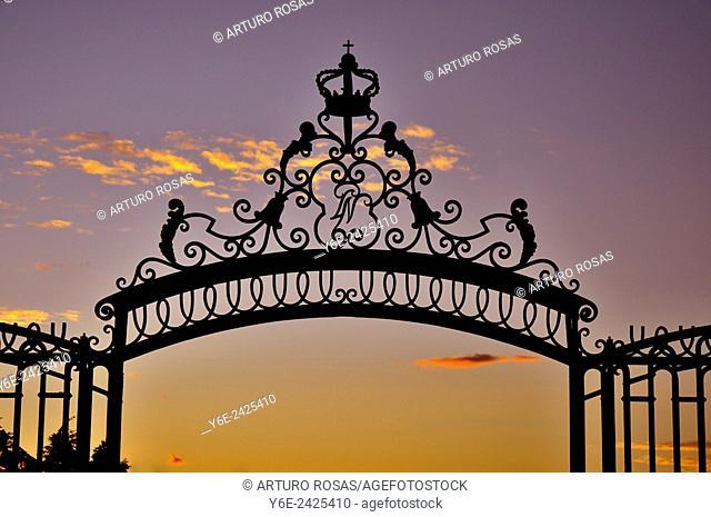 Royal Palace gate, Madrid