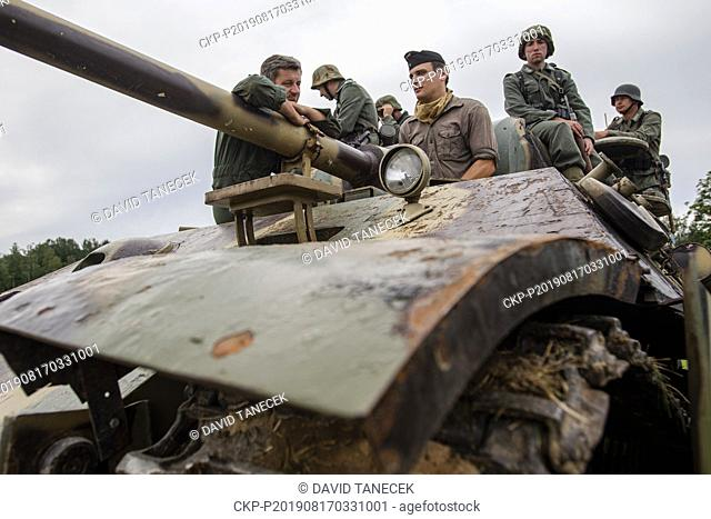 Cihelna 2019, military and historical event, took place in Kraliky military museum and its surroundings, Czech Republic, on August 17, 2019
