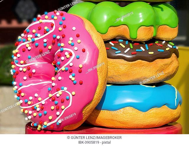 Giant Donuts, Lantau Island, Hong Kong, China