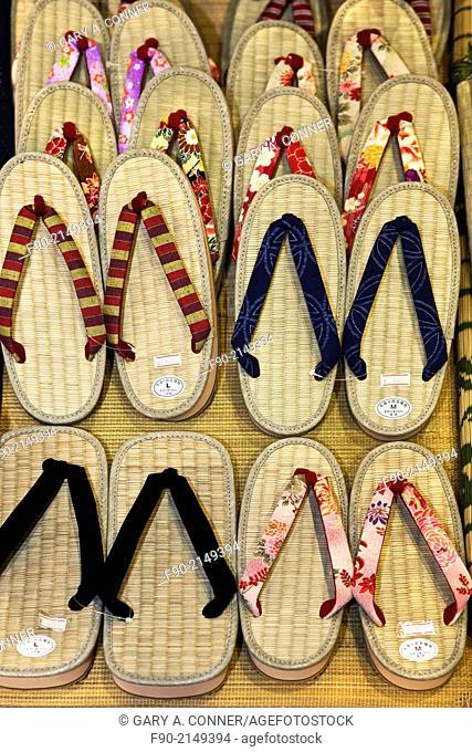 Zorii sandals for sale in Tokyo, Japan