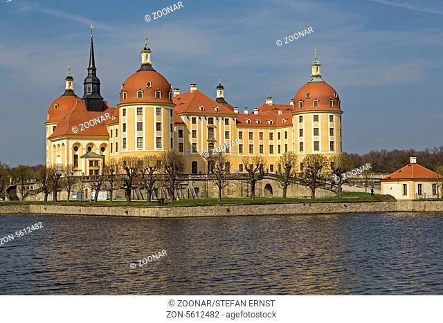 Castle Moritzburg, Dresden, Saxon, Germany, Europe