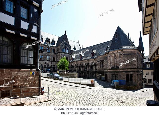 University church, old town, Marburg an der Lahn, Hesse, Germany, Europe