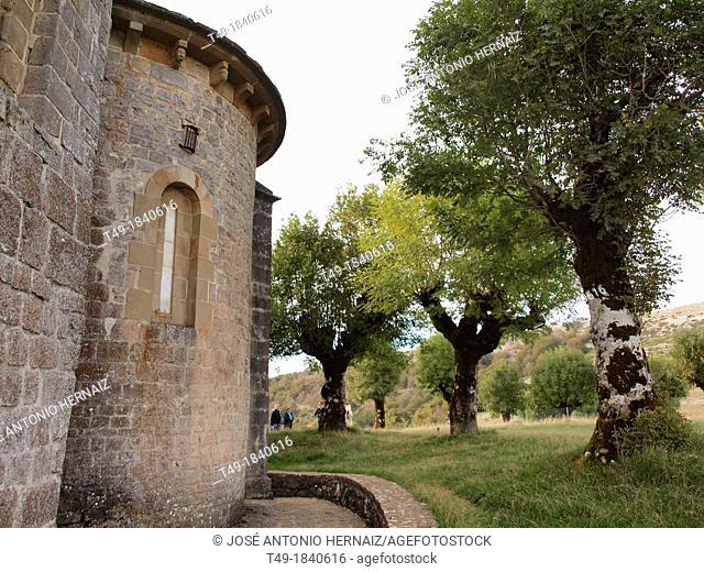 the hermitage of San Miguel de aralar in Navarre