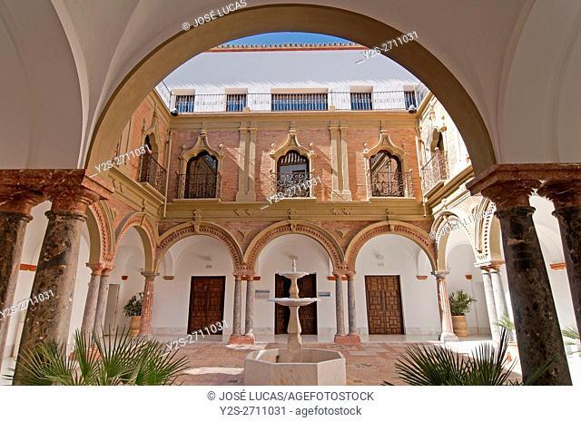 Palace of the Condes de Santa Ana - 18th century, Lucena, Cordoba province, Region of Andalusia, Spain, Europe