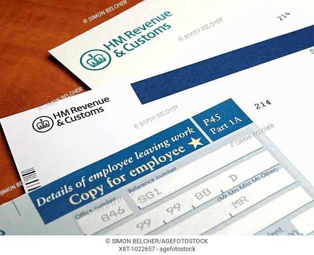 Tax Papers and Forms from HM Revenue & Customs