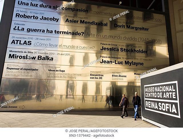 Reina Sofia, Modern Art Museum, Madrid, Spain
