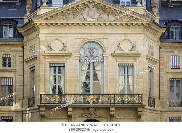 Ministry of Culture and Communication building attached to Palais Royal, Paris France