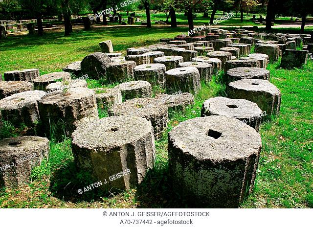 Olympia, site of the ancient Olympic Games. Greece