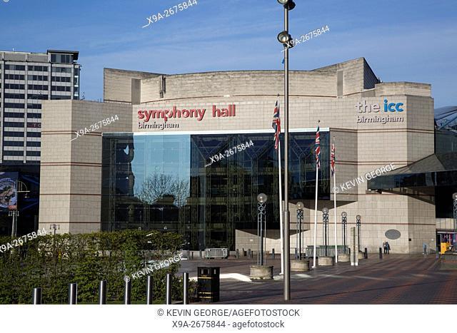 Symphony Hall; Centenary Square Birmingham; England