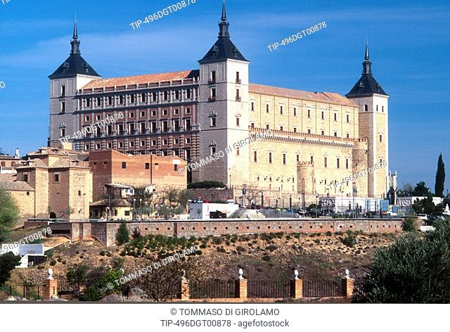 Spain, Castilla-La Mancha, Toledo, The Alcazar