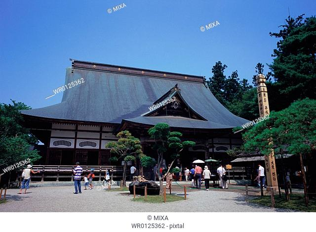 Chusonji Temple in Iwate Prefecture, Japan