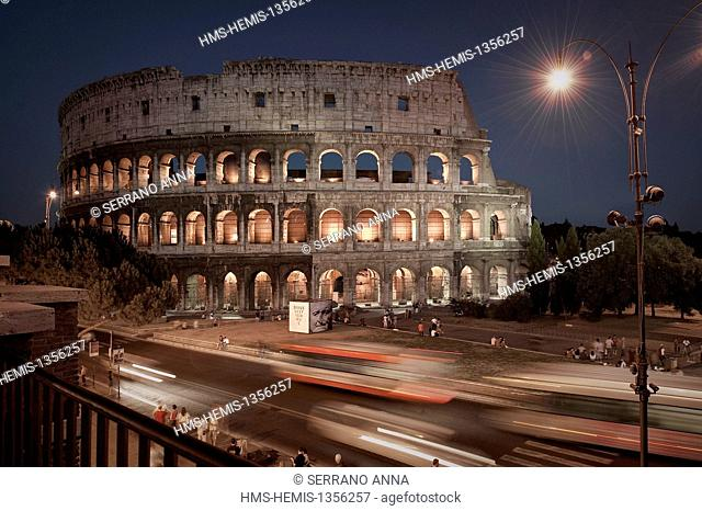 Italy, Lazio, Rome, historical center listed as World Heritage by UNESCO