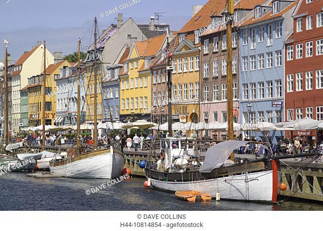Nyhavn, Copenhagen, Denmark, Europe, Europe