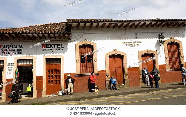 Patzcuaro. Michoacan State. Mexico