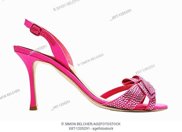 High Heel Shoe, Side View